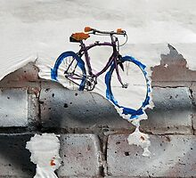 Paper Bicycle by Ethna Gillespie