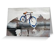 Paper Bicycle Greeting Card