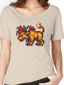 Nanaki / Red XIII sprite - FFRK - Final Fantasy VII (FF7) Women's Relaxed Fit T-Shirt