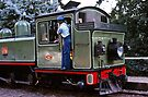Puffing Billy at Emerald 19800516 0017  by Fred Mitchell