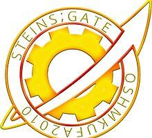 Steins;Gate Pin Badge by lucasnordbo