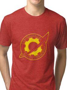 Steins;Gate Pin Badge Tri-blend T-Shirt