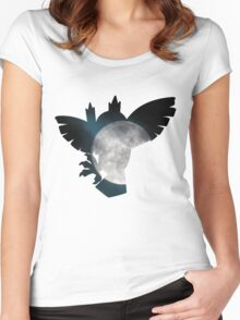 Noctowl used dream eater Women's Fitted Scoop T-Shirt
