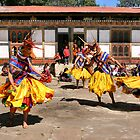 Tashiling Festival #2, Eastern Himalayas, Central Bhutan  by Carole-Anne