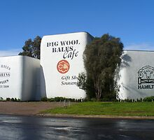 Big Wool Bales, Hamilton, Victoria by DashTravels