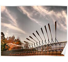 Pedestrian Bridge - Parramatta, Australia Poster