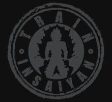 TRAIN INSAIYAN by oolongtees