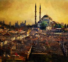 Istanbul Sunrise by Ted Byrne