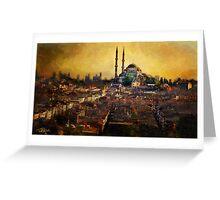 Istanbul Sunrise Greeting Card
