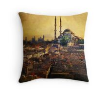 Istanbul Sunrise Throw Pillow