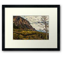 Rocky Mountain Autumn Glory Framed Print
