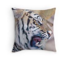 The Bengal Snarl Throw Pillow