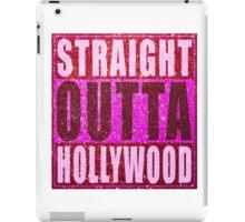 Straight Outta Hollywood Glitter iPad Case/Skin