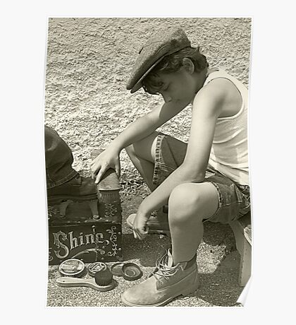 Shoeshine Boy Poster
