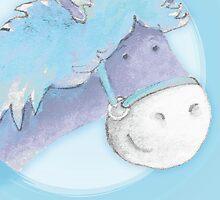 """Peter Patter Pony"" birthday card by Sarah Trett"