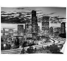Monochrome City Poster