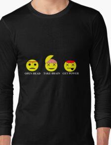 Heroes Sylar Smileys Long Sleeve T-Shirt