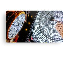 Clock at the Shot Tower - Melbourne Central, Victoria Metal Print