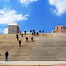 Up the Steps to the Gateway Arch by barnsis