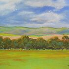 South Australian Pastoral #1  by Virginia McGowan