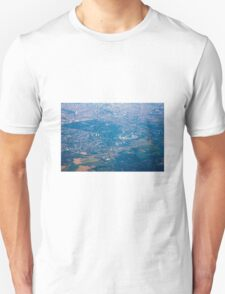 Brussels areal view, Belgium Unisex T-Shirt