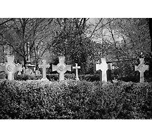Cross My Heart, Hope To Die Photographic Print