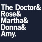 The Doctor's Companions by Jeffrey West
