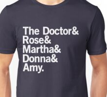 The Doctor's Companions Unisex T-Shirt