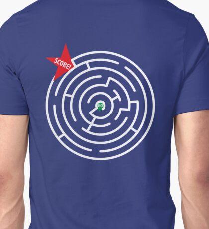 MAZE PUZZLE GOAL Unisex T-Shirt