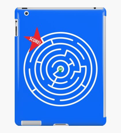 MAZE PUZZLE GOAL iPad Case/Skin