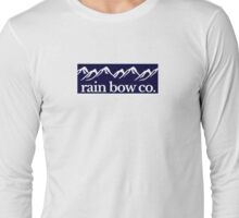 Rain Bow Co. - Navy Long Sleeve T-Shirt
