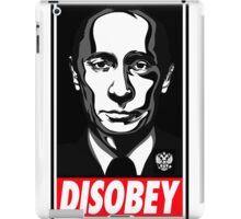 Putin Disobey iPad Case/Skin