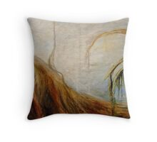 Earth and Sky (original for sale) Throw Pillow