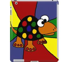 Cool Colorful Spotted Turtle Art Abstract iPad Case/Skin