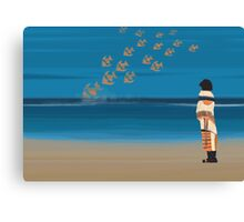 Kafka on the shore - day 29 Canvas Print