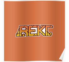 CSGO Pixel Series | REKT Poster