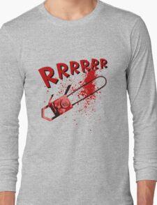 RRRRR Chainsaw Long Sleeve T-Shirt