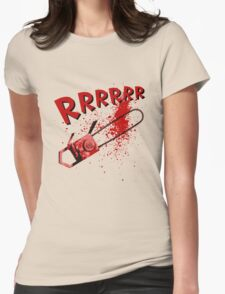 RRRRR Chainsaw Womens Fitted T-Shirt
