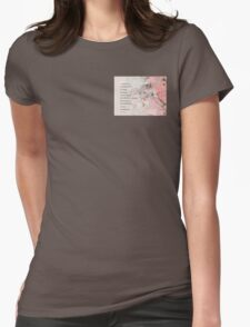 Serenity Prayer Almond Blossoms Pink T-Shirt