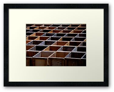 Grape Boxes by Bob Wall