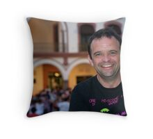Marc in Vera Cruz Throw Pillow