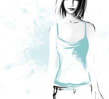 Blue Fading by Lisa Furze