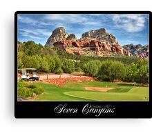 Seven Canyons Golf Course Canvas Print