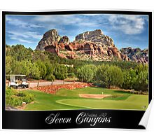 Seven Canyons Golf Course Poster