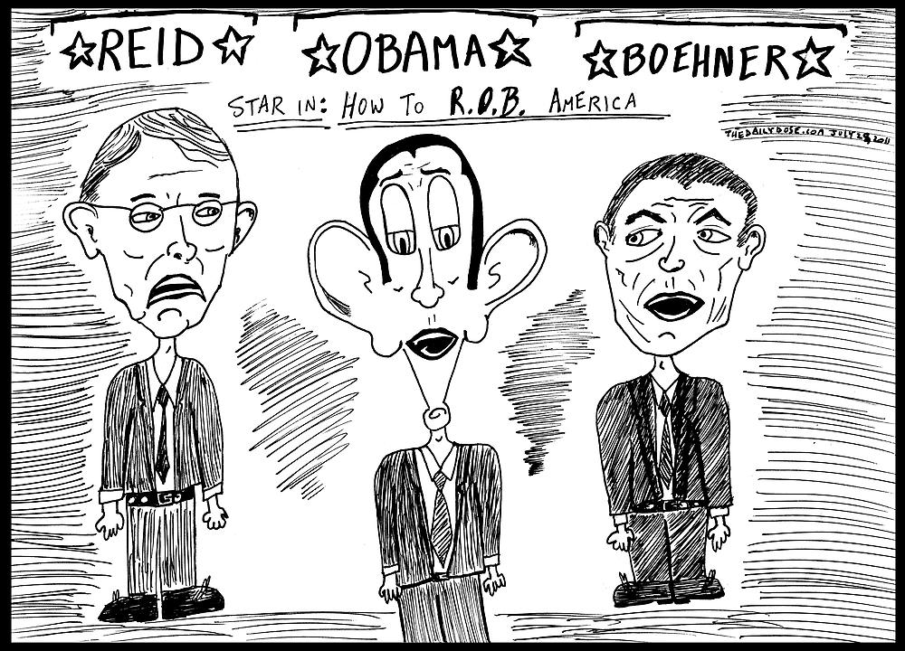 The Default Actors of Political Theatre by bubbleicious
