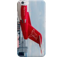 Denim Air Fokker F100 tail livery iPhone Case/Skin