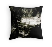 Cairns at the Crossing Throw Pillow