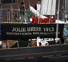 Jolie Brise in Lerwick by NordicBlackbird
