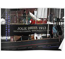 Jolie Brise in Lerwick Poster