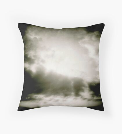 Study in Clouds I Throw Pillow